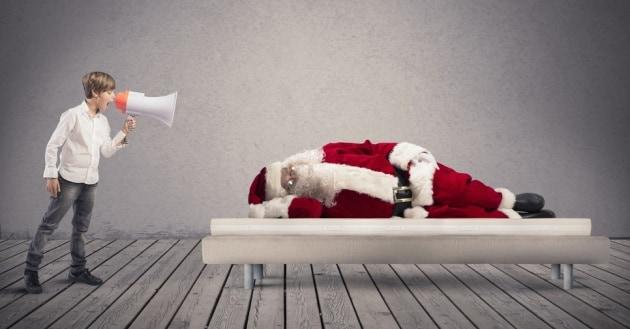 Come e perché le feste natalizie ci tolgono il sonno