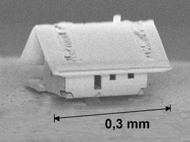 La casa più piccola al mondo (costruita dai robot più precisi del Pianeta)