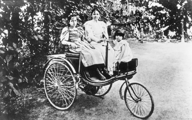 Chi ha compiuto il primo viaggio in auto della storia?
