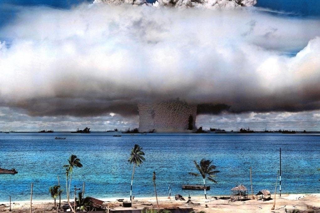 Che cosa accadrebbe se una bomba H esplodesse nel Pacifico?