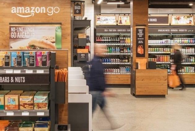 Come funziona Amazon GO, il negozio intelligente e senza cassa