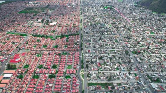 città, baraccopoli, slum, fotografia, foto aeree, disuguaglianze, povertà, ricchezza