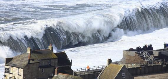 livello dei mari, clima, oceano atlantico, altezza delle onde, erosione delle coste