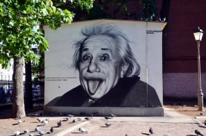 Albert Einstein - corone di laurea - shop online