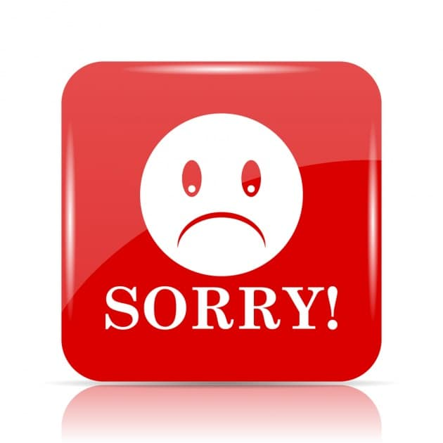 Come si chiede scusa nel mondo?