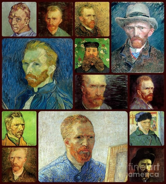 3-vincent-van-gogh-self-portrait-collage-celestial-images