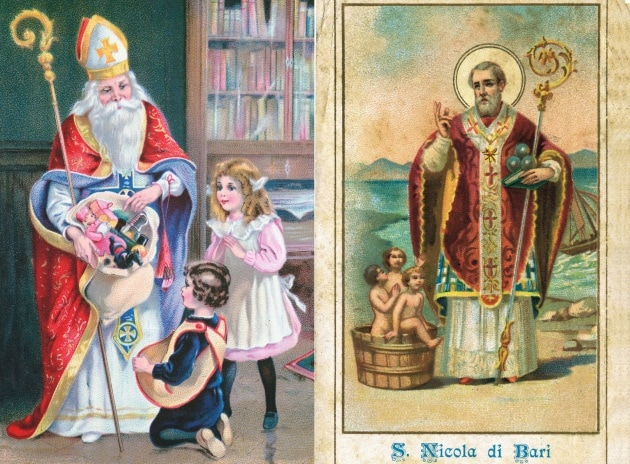 San Nicola e la leggenda di Babbo Natale