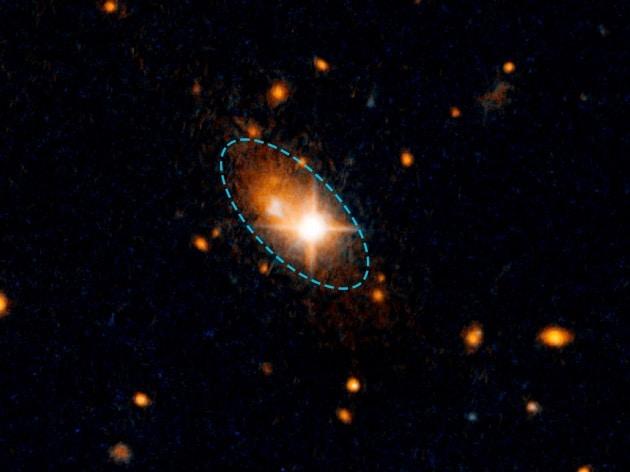 La fuga del buco nero