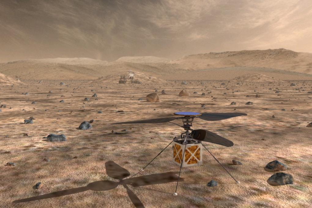 Un elicottero drone per Mars 2020