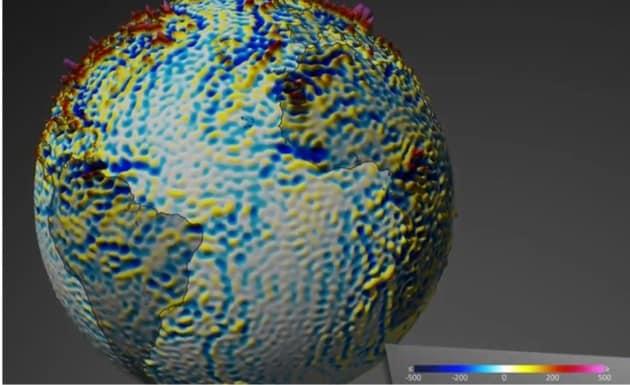 Mappato più in dettaglio il campo magnetico terrestre