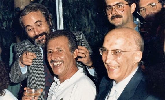 Borsellino, Falcone e Caponnetto