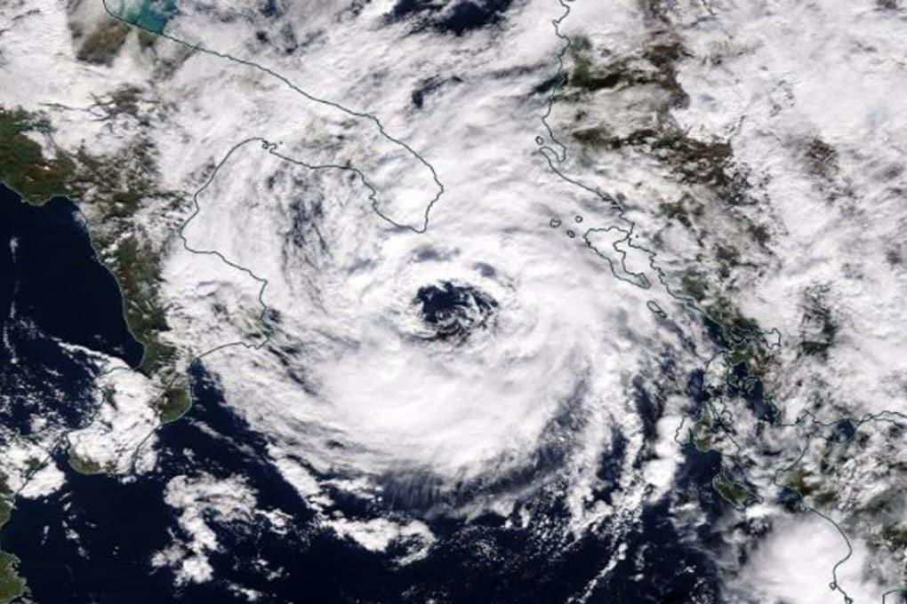 I medicane, i piccoli uragani del Mediterraneo