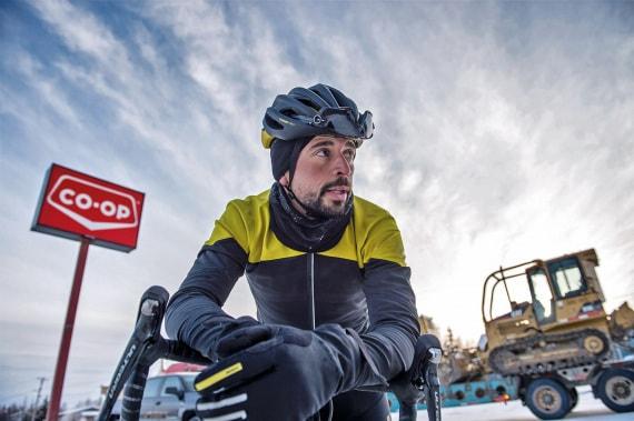Omar Di Felice, avventura, sport estremi, ultracycling, Canada, Pedalando nel silenzio di ghiaccio