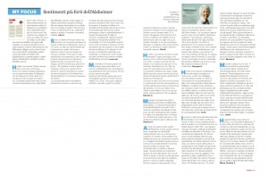 21 settembre: Giornata Mondiale dell'Alzheimer