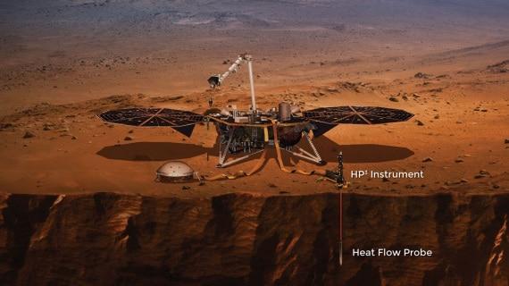 Marte, Pianeta Rosso, InSight, Nasa, Sistema Solare, Elysium Planitia