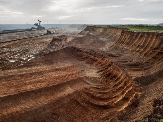 antropocene - Germania: miniere di carbone