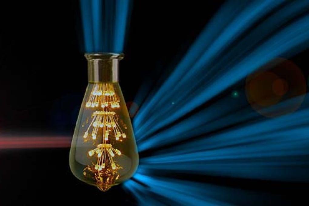 Trasformare la luce infrarossa in luce visibile