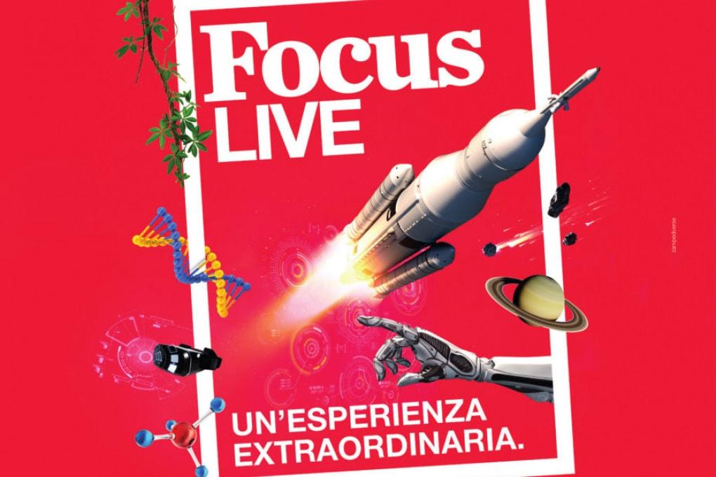 Tutte le installazioni ed esperienze di Focus Live