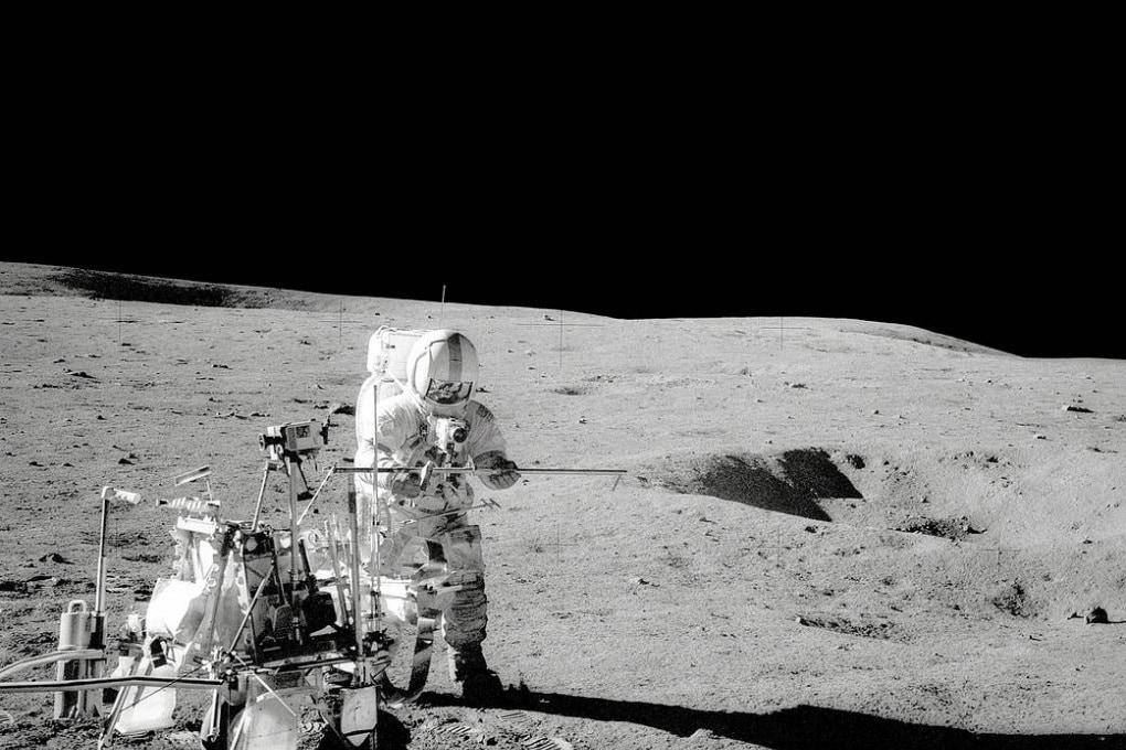 Una delle rocce lunari portate a Terra dagli astronauti non è di origine lunare