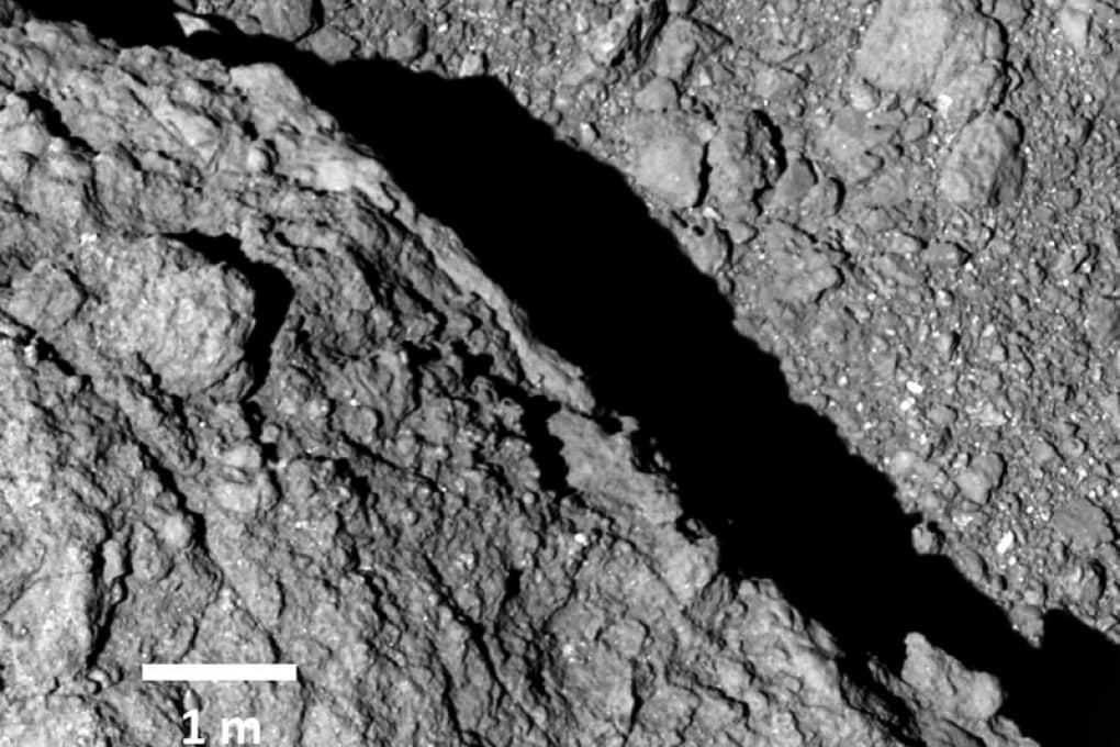 Video dall'asteroide Ryugu