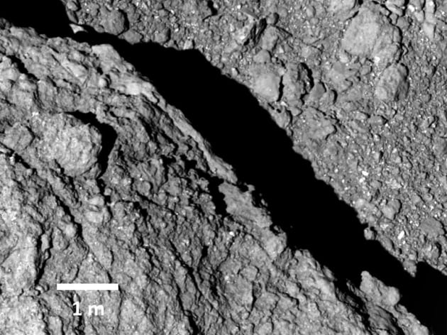 Video dall'asteroide Ryugu