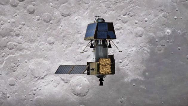 Chandrayaan-2: per la sonda indiana si avvicina l'allunaggio