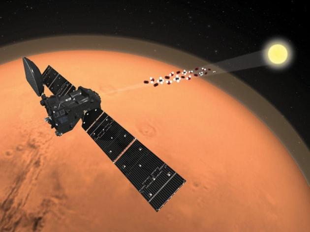 Metano nell'atmosfera di Marte: c'è o non c'è?