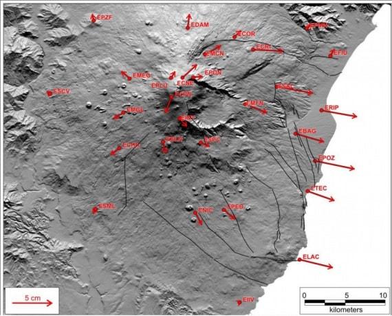 Etna, geologia, vulcanologia, vulcani