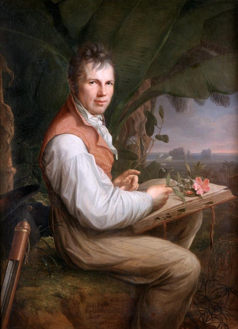 Alexander Von Humboldt: il primo naturalista della storia