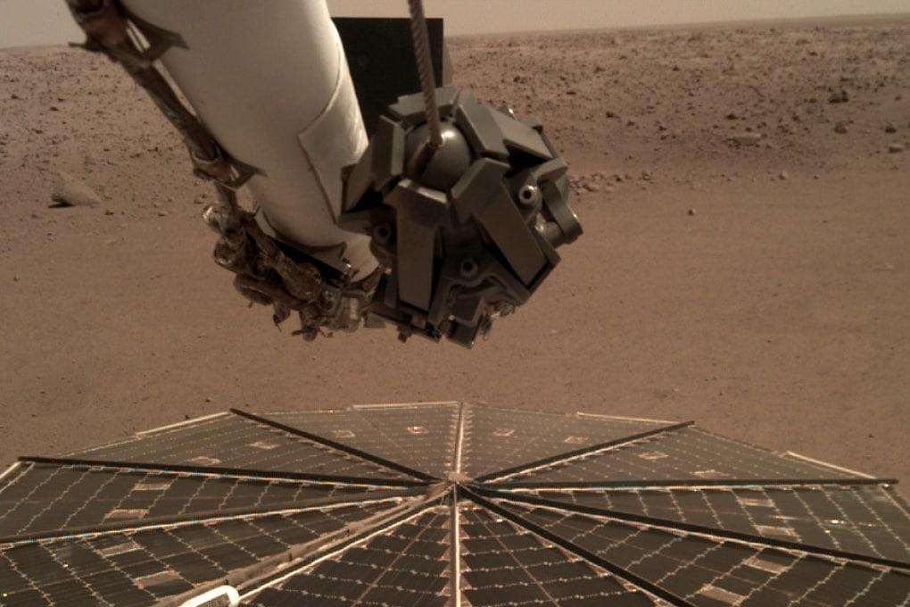 Insight ha registrato il suono del vento di Marte