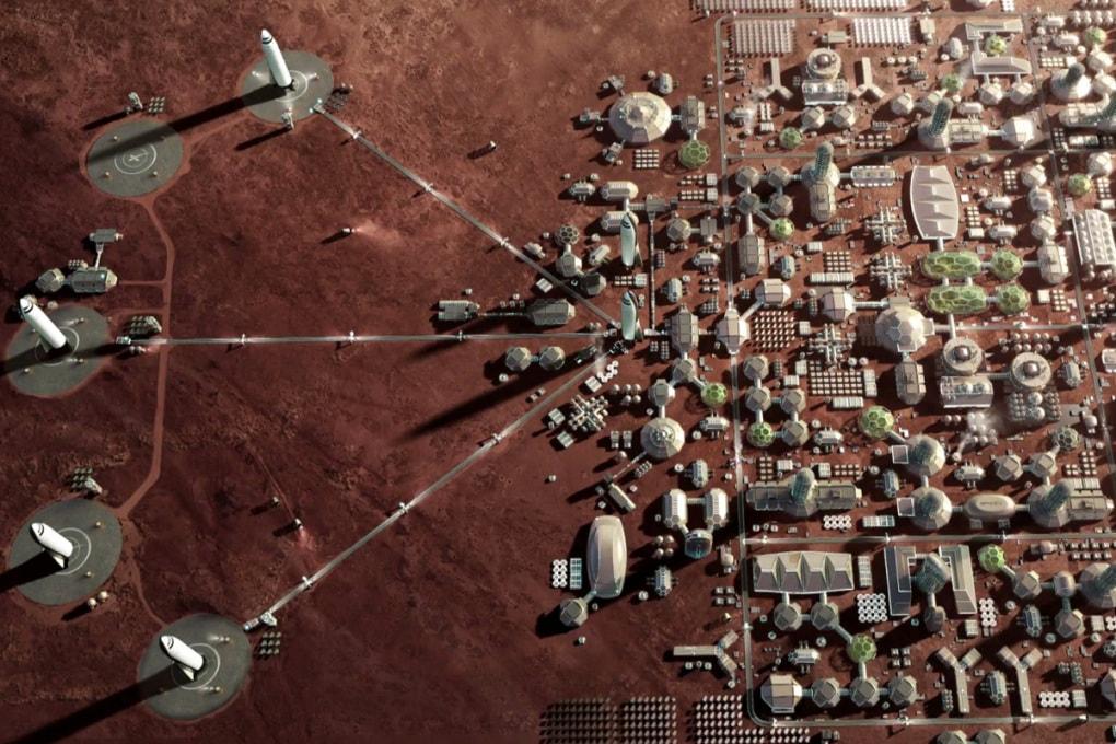 Anno 2028: qui Base Marte