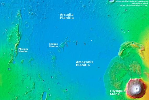 SpaceX su Marte