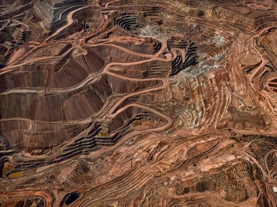 antropocene - Stati Uniti: miniere di rame