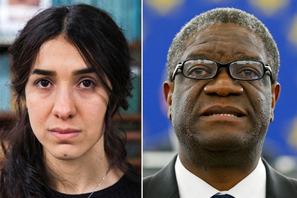 Il Nobel per la Pace 2018 a Denis Mukwege e Nadia Murad