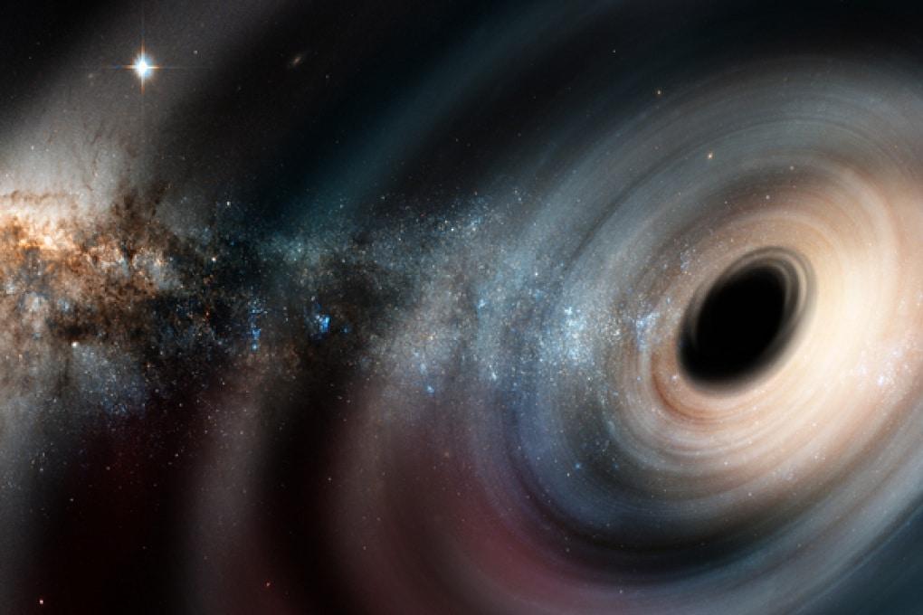 Un buco nero da 40 miliardi di volte il Sole
