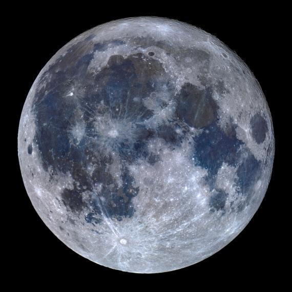 La composizione del suolo della Luna