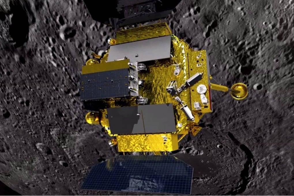Chang'E-4 è sulla Luna