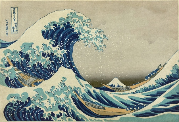 La Grande Onda di Hokusai ricreata in laboratorio