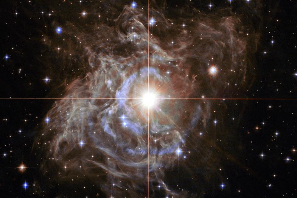 La ghirlanda delle feste di Hubble