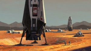 Mars Base Alpha, Elon Musk, Marte, Pianeta Rosso, Luna, Big Falcon Rocket, SpaceX, coloni marziani