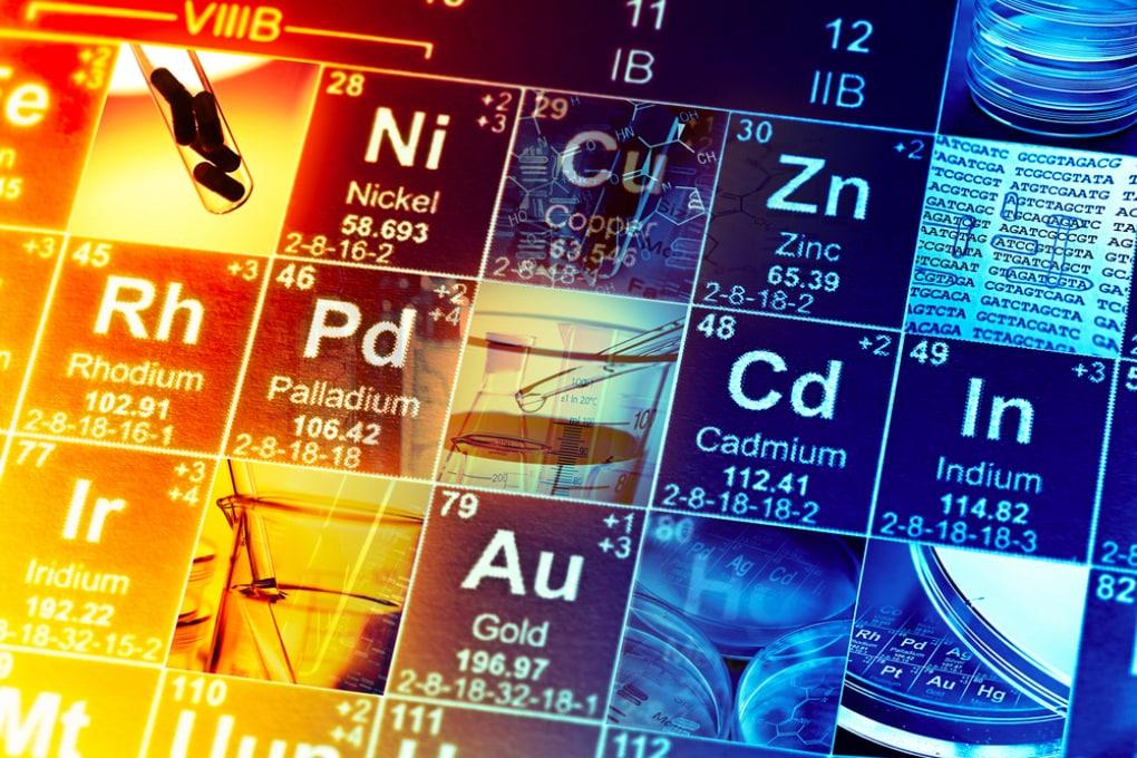 2019: l'anno della tavola periodica degli elementi