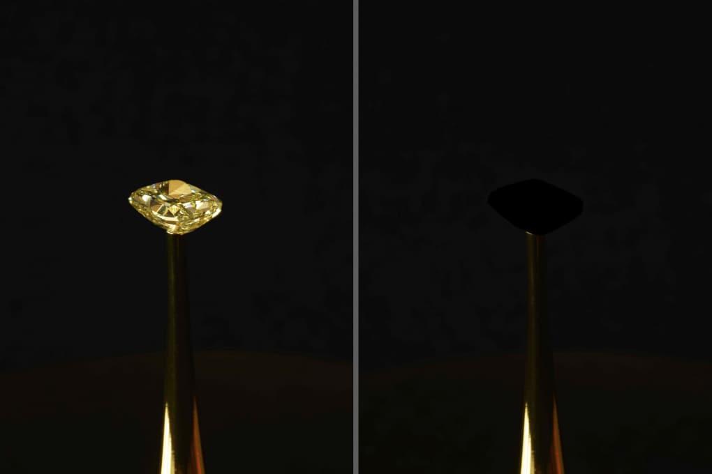 Più nero del Vantablack: il nuovo materiale più scuro del mondo