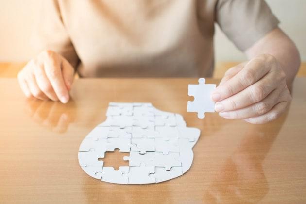 Molti casi di demenza potrebbero derivare da errori spontanei nel DNA