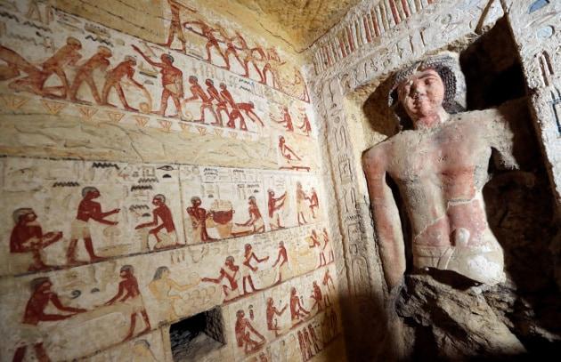 Egitto, scoperta una tomba di 4.400 anni fa