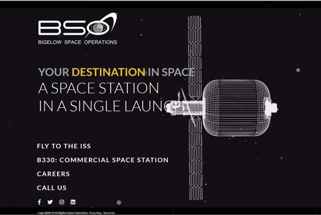 Bigelow Space Operations: il tour operator dello Spazio