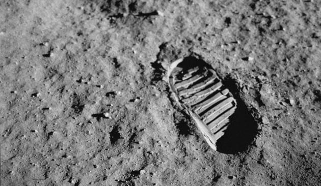 Quando l'uomo camminò sulla Luna