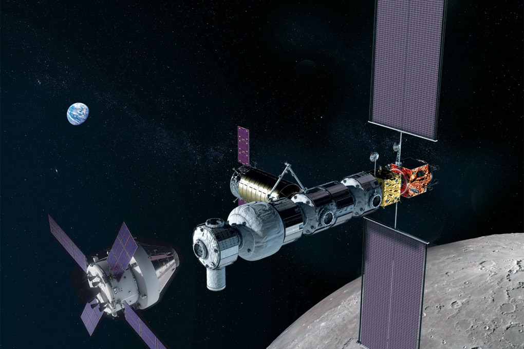 Al via la Stazione Spaziale Lunare