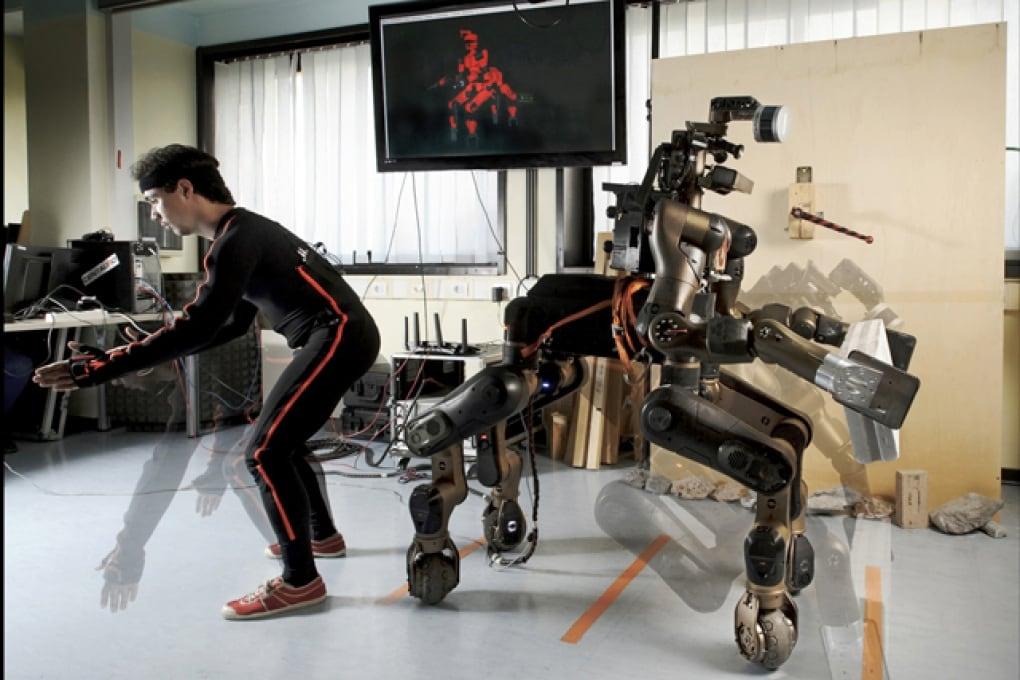 Signori, ecco a voi Centauro, il robot