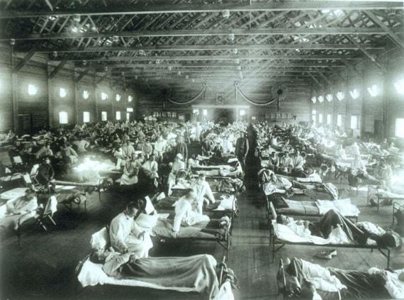 virus, influenza, spagnola