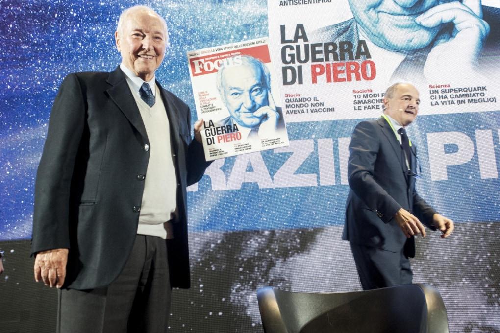 """Piero Angela inaugura Focus Live: """"Io reporter della scienza, ragione di una vita"""""""